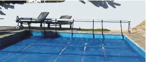 Floating Pool Cover and AstralPool Roller